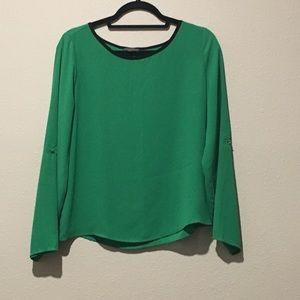 Vince camuto Green Longsleeve blouse